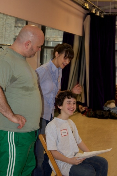 Photo Flash: A Class Act NY's Billy Elliot Workshop with Thommie Retter and Trevor Braun