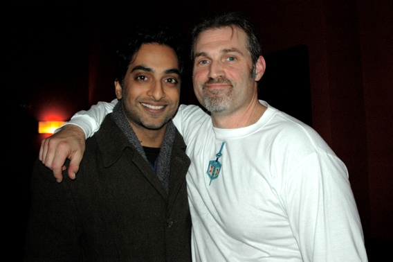 Manu Narayan and Marc Kudisch