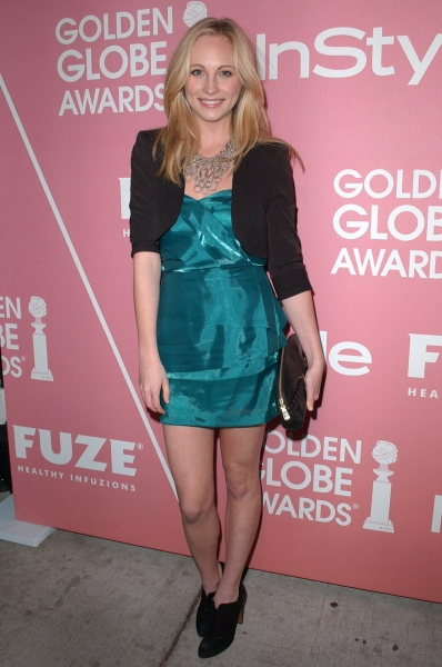 Candice Accola  at Golden Globes 'Saluting Young Hollywood' Party