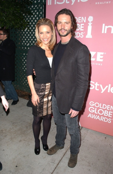 KaDee Strickland & Jason Behr  at Golden Globes 'Saluting Young Hollywood' Party