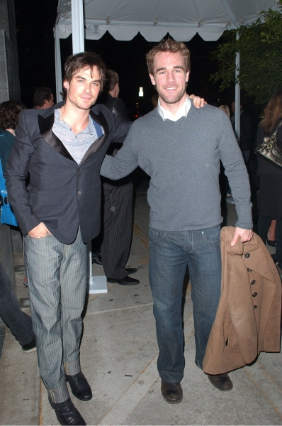 Ian Somerhalder & James Van Der Beek  at Golden Globes 'Saluting Young Hollywood' Party