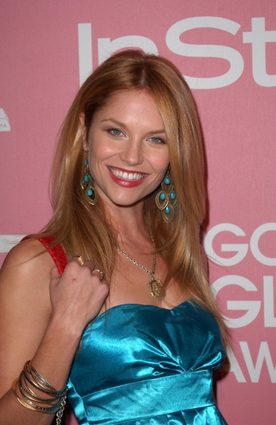 Ellen Hollman  at Golden Globes 'Saluting Young Hollywood' Party