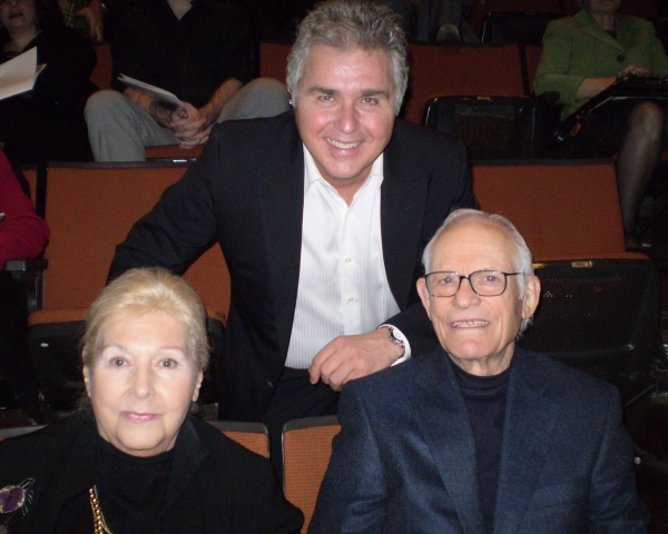 Marilyn Bergman, Steve Tyrell and Alan Bergman