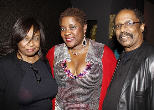 Hattie Winston, Loretta Devine, and Harold Wheeler at Upright Cabaret