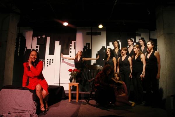 Sheila Dabney, Vinie Burrows, Camilla de Araujo, and Ensemble