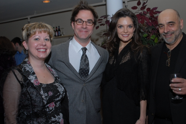 Amy Marshall, Roger Bart, Melina Kalomas, Jim Petosa at Roger Bart Visits Olney Theatre Center's National Players 60th Anniversary Celebration