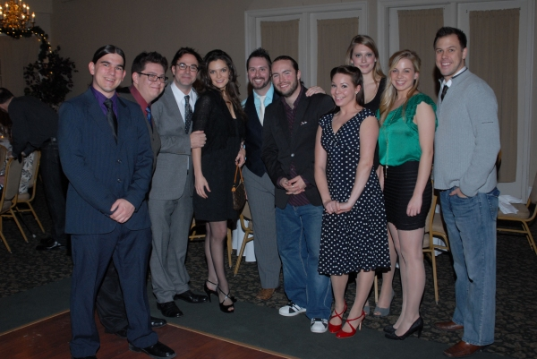 Photo Flash: Roger Bart Visits Olney Theatre Center's National Players 60th Anniversary Celebration