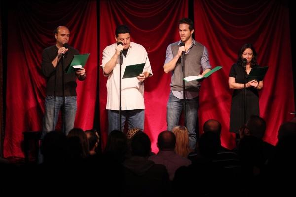 Scott Adsit, Steve Schirripa, Ryan Reynolds & Rachel Dratch