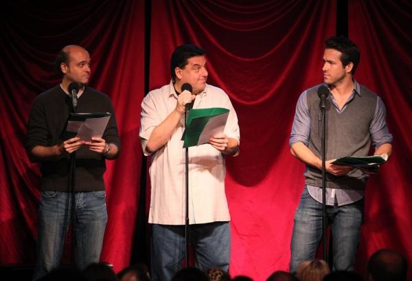 Scott Adsit, Steve Schirripa, Ryan Reynolds