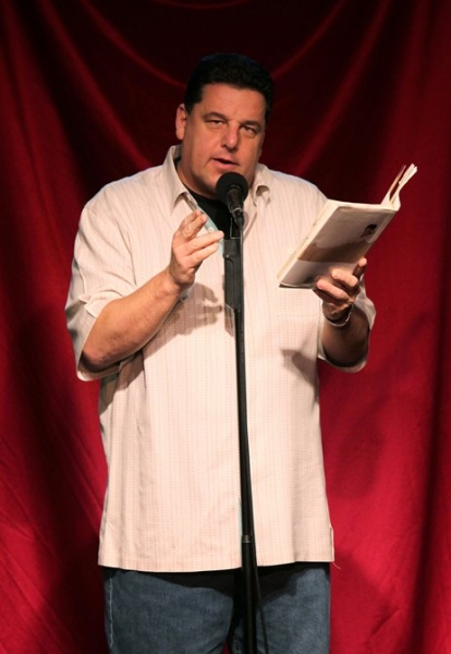 Steve Schirripa at Celebrity Autobio: In Their Own Words at the Triad
