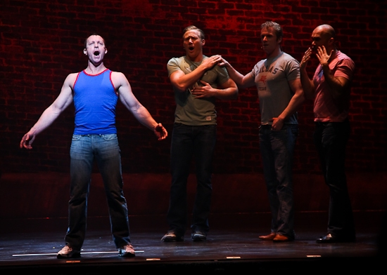 The cast of Chicago featuring Ryan Lowe
