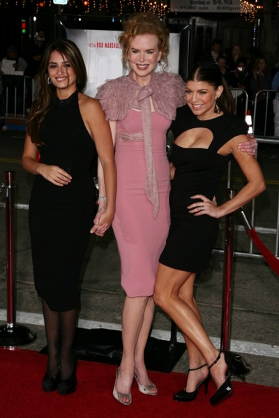 "Penelope Cruz, Nicole Kidman, and Stacy ""Fergie"" Ferguson"