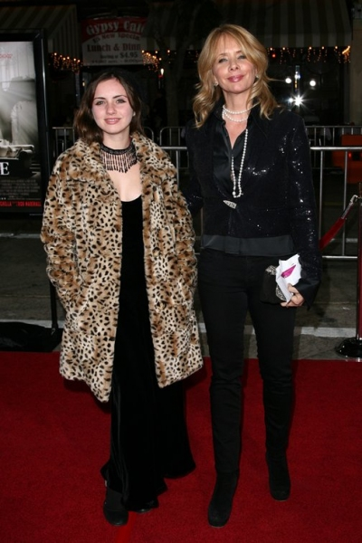 Rosanna Arquette and daughter Zoe Sidel
