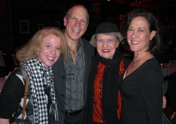Deborah Grace Winer, David Zippel, Julie Wilson & Karen Ziemba Photo