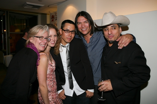 Lisa Peterson, Kirsten Potter, Justin Rain, Brandon Oakes and Richard Montoya