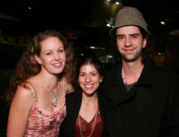 Kirsten Potter, Jessica Goldberg, and Hamish Linklater