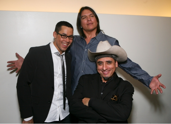 Justin Rain, Brandon Oakes and Richard Montoya