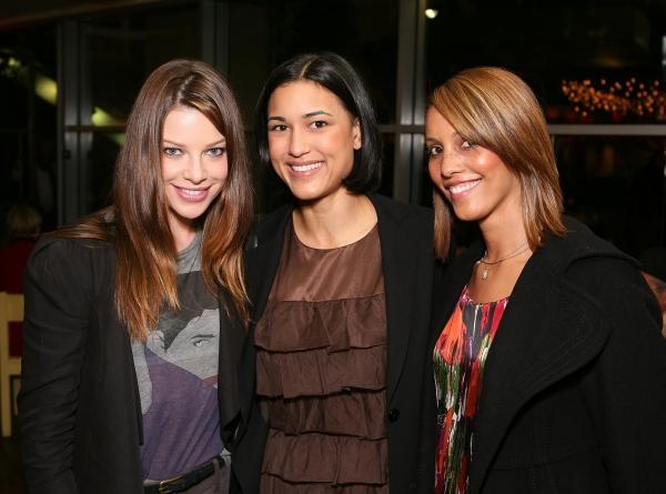 Lauren German, Julia Jones, and Everly Lee Photo