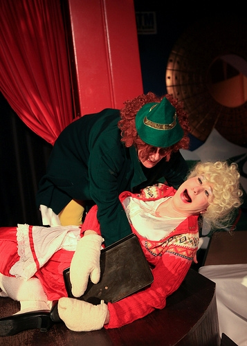 Photo Flash: Hell in a Handbag Productions Presents RUDOLPH THE RED-HOSED REINDEER