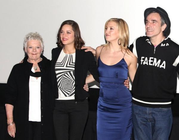 Dame Judi Dench, Marion Cotillard, Kate Hudson and Daniel Day-Lewis