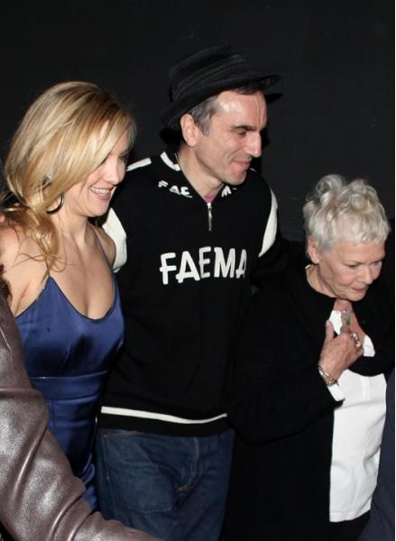 Kate Hudson, Daniel Day-Lewis and Dame Judi Dench