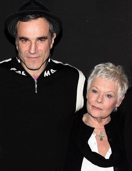 Daniel Day-Lewis and Judi Dench