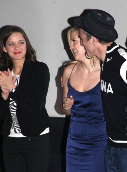Marion Cotillard, Kate Hudson and Daniel Day-Lewis