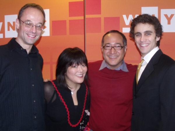 The creative team; Gary Adler (Musical Director), Ann Harada, Alan Muraoka (Director) and Michael Mindlin (Choreographer)