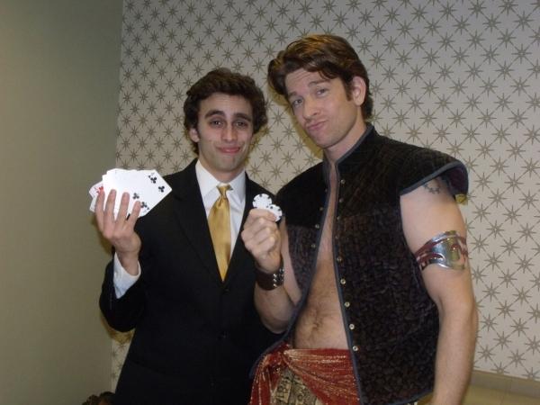 Michael Mindlin and Andy Karl