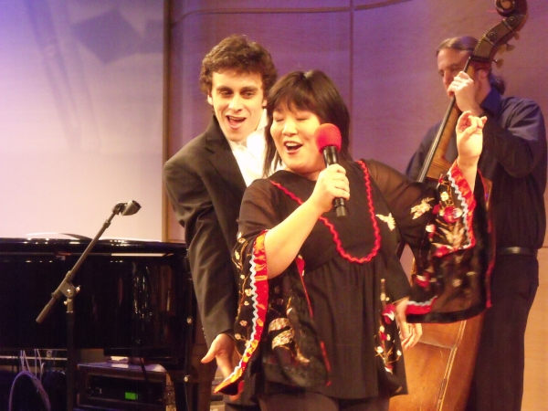 Michael Mindlin and Ann Harada