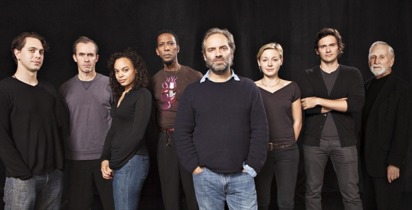 Sam Mendes, Thomas Sadoski, Stephen Dillane, Michelle Beck, Ron Cephas Jones,  Juliet Rylance, Christian Camargo, Alvin Epstein at Photo Preview: THE BRIDGE PROJECT At BAM