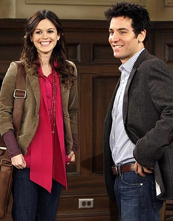 Guest Star Rachel Bilson and Josh Radnor at Neil Patrick Harris in HOW I MET YOUR MOTHER's Musical 100th Episode