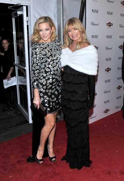 Kate Hudson and Goldie Hawn at NINE Film Premieres in New York City at the Ziegfeld Theatre!
