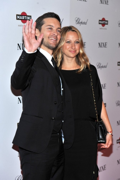 Tobey Maguire and wife Jennifer Meyer Maguire  Photo