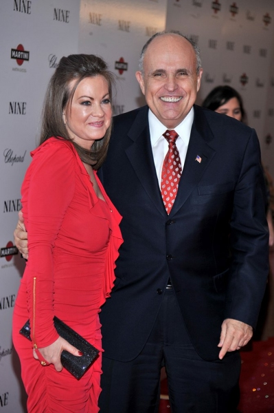 Judith Nathan and Rudy Giuliani