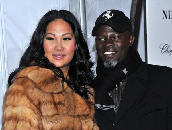 Designer Kimora Lee Simmon & Djimon Hounsou