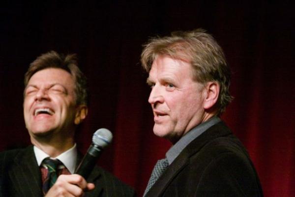 Photo Coverage: Brent Barrett and Jason Robert Brown at Birdland