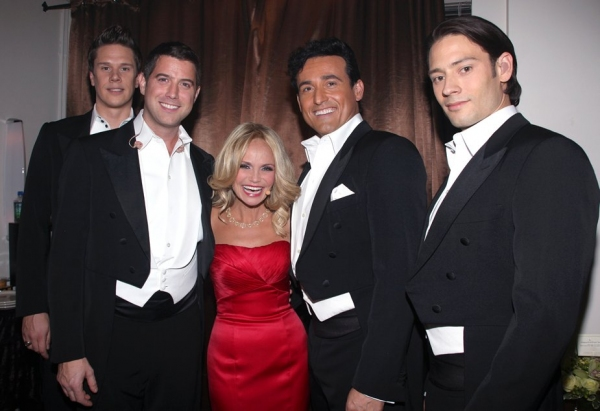 Photo coverage exclusive 39 celebrate the holidays 39 with il - Il divo david miller ...