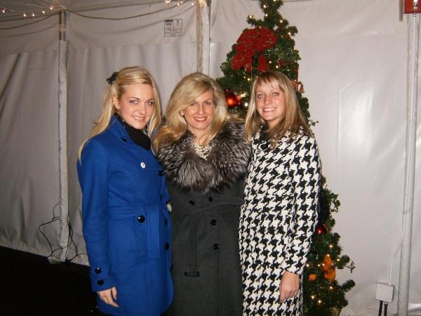 Lianne Wiker, Noreen Heron Zautcke and Brenna O'Leary