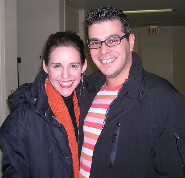 Emily Shoolin and Frank Galgano