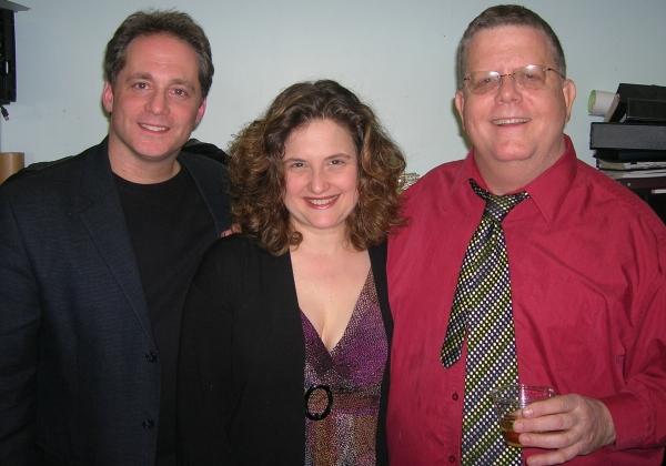 Laurence Holzman, Annette Jolles, Jim Morgan Photo