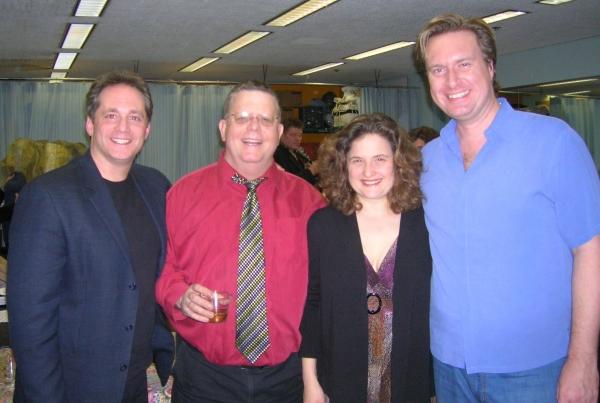 Laurence Holzman, Jim Morgan, Annette Jolles and Matt Castle Photo