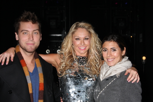 Photo Coverage: Fatone, Bass and Sigler Visit BURN THE FLOOR