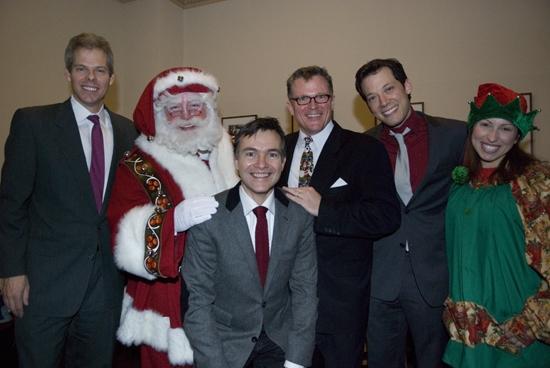 James Johnson (CEO of The New York Pops), John Tartaglia, Lyricist William Schermerhorn, John Morris Russell