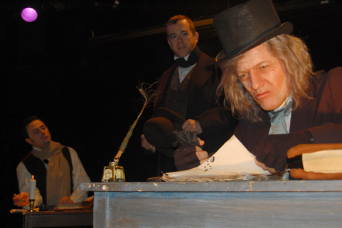 BWW REVIEWS: SCROOGE AND MARLEY -  More of Gravy than the Grave