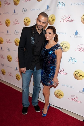 Photo Coverage: Longoria, Lopez & Parker Ring in the New Year at Eve NIghtclub in Las Vegas
