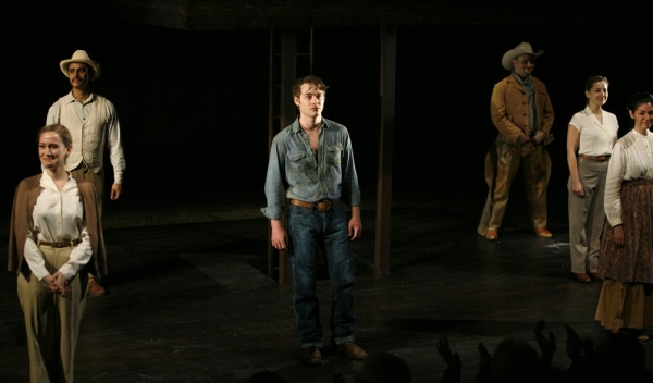 Ashley Robinson during the Dress Rehearsal for the World Premiere production of Michael John LaChiusa's GIANT at the Signature Theatre in Arlington, Virgina