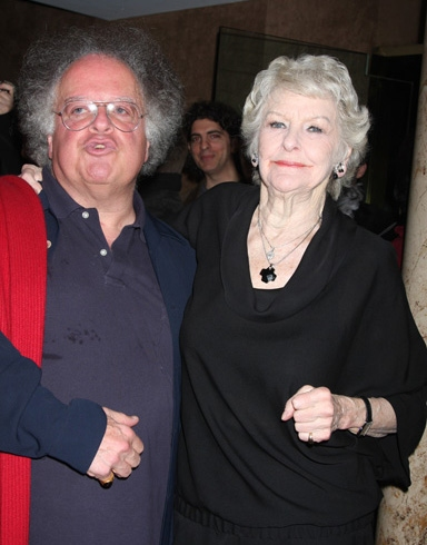 James Levine and Elaine Stritch