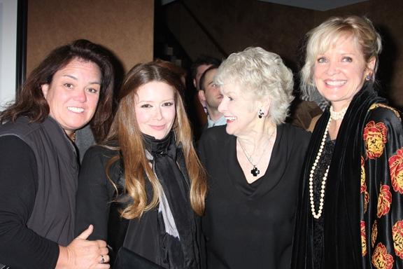 Rosie O'Donnell, Natasha Lyonne, Elaine Strich and Christine Ebersole