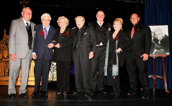 Milt Larsen with Past presidents and Presidents Emeritus Ron Wilson, Irene Larsen (Honorary President for Life), Mark Wilson, Dale Hindman, Gay Blackstone and current President Robert Lamoreaux